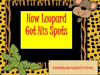 How Leopoard Got His Spots (Journeys Common Core Reading Series)