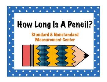 How Long Is A Pencil? Measurement Center