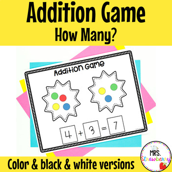 How Many Addition Game