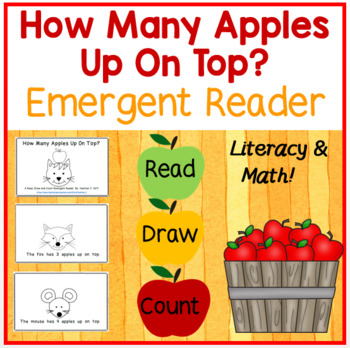 How Many Apples Up On Top?  Emergent Reader-Aligns w/5 CCSS