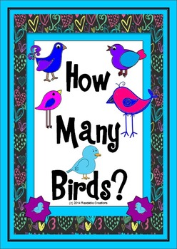 How Many Birds? - Math Counting Activities
