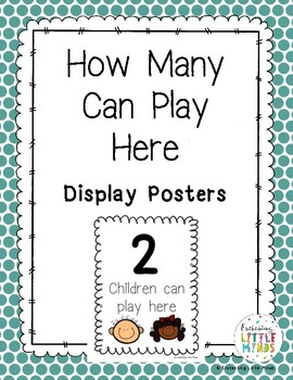 How Many Can Play Here Display Posters