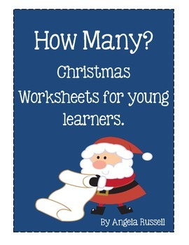 How Many? Christmas Worksheets For Young Learners