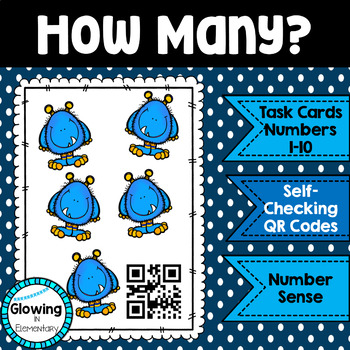How Many? Counting Activity with QR Codes