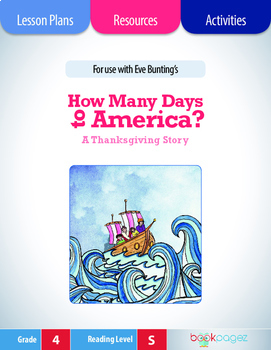 How Many Days to America Lesson Plans & Activities Package