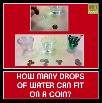 How Many Drops of Water Can Fit on a Coin? Predicting and