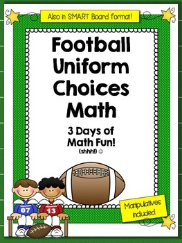 How Many Football Uniforms Math Problem Solving Lessons