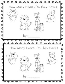 How Many Hearts Do They Have?  emergent reader