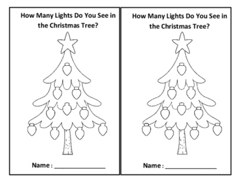 How Many Lights Do You See in the Christmas Tree-Christmas
