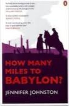 How Many Miles to Babylon? - Reading Questions