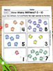 Counting How Many 0-10 Math Worksheets - K.CC.5