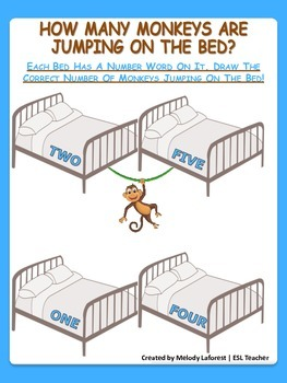 How Many Monkeys Are Jumping on the Bed?