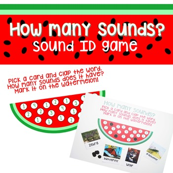 How Many Sounds? - Sound ID game