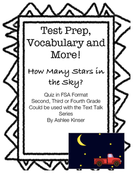 How Many Stars in the Sky? - Text Talk - Comp and Vocabula