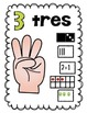 How Many Ways Can you Make 10? Spanish Posters