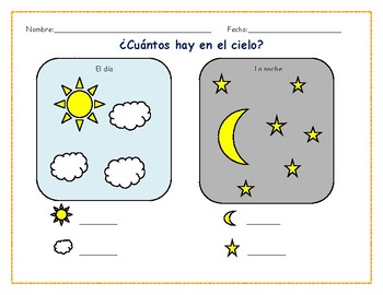 How Many are in the Sky? - Spanish