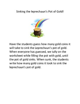 How Much Gold Until The Pot Of Gold Sinks