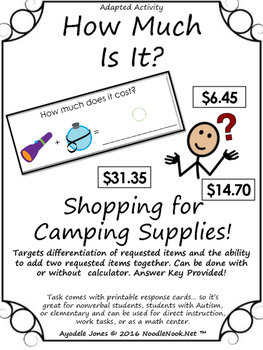 How Much Is It? An Adapted Book for Money Math using Campi
