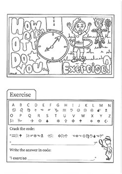 How Often Do You Exercise - Tab Booklet