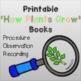 How Plants Grow Book's: PRINT AND GO!
