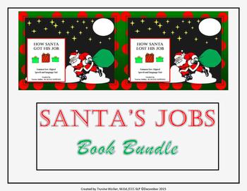 How Santa Got/Lost His Job Book Companion Units Bundle