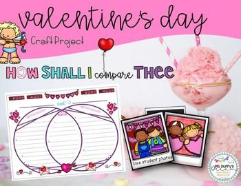 Valentine Compare and Contrast Craftivity: How Shall I Com