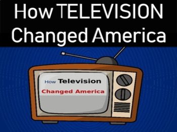 How Television Changed America: Thought-provoking resource