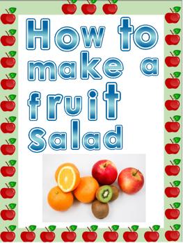 How to Make a Fruit Salad Writing