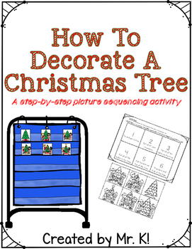 How To Decorate A Tree Picture Sequence