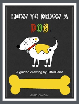 How To Draw a Dog. A Guided Drawing.