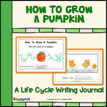How To Grow A Pumpkin - A Writing Journal