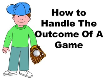 How To Handle the Outcome of a Game Counseling Powerpoint Anger