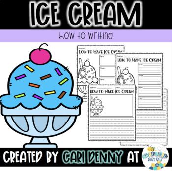 How To Make Ice Cream Writing