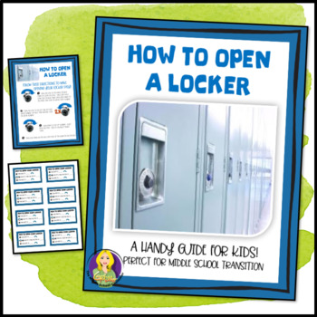 How To Open A Locker Guide For Kids