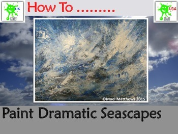 Art resource. How To Paint Dramatic Seascapes - A Visual Guide
