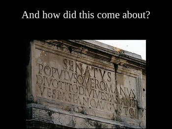 How To Read a Roman Arch and the Latin Words on It