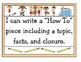 """""""How-To"""" Sports Journal Jot (Use with First Grade ELA Unit"""