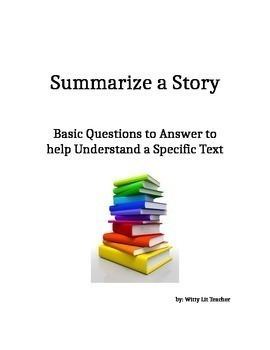 How To Summarize a Text