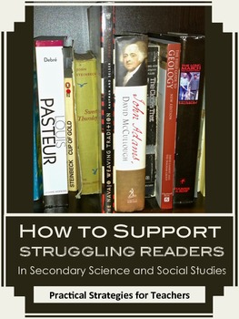How To Support Struggling Readers in Secondary Science and