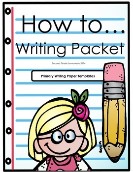 How To Writing Packet - Paper Templates