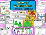 How-To Writing Unit from Teacher's Clubhouse