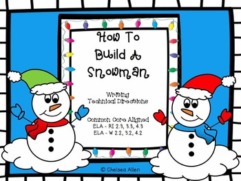 How To...Build A Snowman