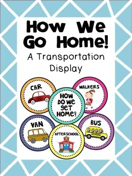 How We Get Home - A Classroom Transportation Display