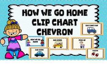 How We Go Home Clip Chart -Chevron
