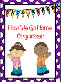 How We Go Home Organizer