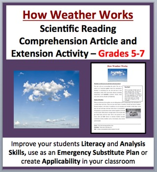 How Weather Works - Scientific Reading Comprehension Arti