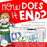 Sentence and Ending Punctuation Activities