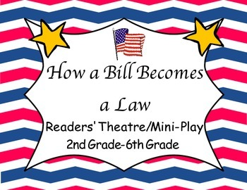 How a Bill Becomes a Law Readers' Theatre