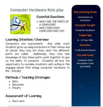 How a Computer Works: Role Play