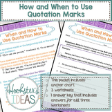 How and When to Use Quotation Marks